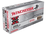 Winchester Super-X 223 Rem 55gr Jacketed SP