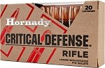 Hornady Critical Defense 308 Win 155gr FTX