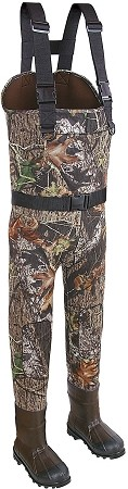 Allen Company Big Timber Bootfoot Neoprene Chest Wader (Mossy Oak Break Up Infinity) (Sizes 8-13 Stout)