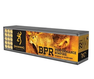 Browning BPR 22LR 40gr High Velocity HP