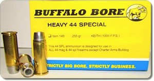 Buffalo Bore Heavy .44 Special 255gr Hard Cast SWC Keith GC