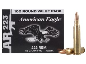 Federal American Eagle 223 Rem. 55gr FMJ (Value Pack)