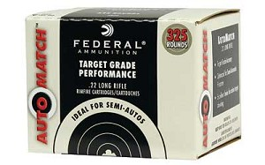 Federal AutoMatch .22 Long Rifle 40gr SP