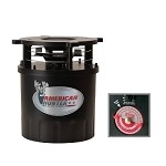 GSM Outdoors American Hunters RD-PRO Analog Feeder Kit & Varmint Guard