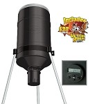 GSM Outdoors American Hunters 225 Lb. Tripod Feeder w/ Digital RD-Kit Pro & Varmit Buster