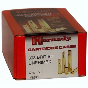 Hornady 303 British Unprimed Cartridge Cases