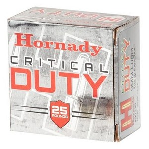 Hornady Critical Duty 9mm Luger 135gr FlexLock