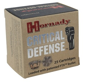 Hornady Critical Defense 30 Carbine 110gr FTX