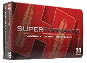 Hornady Superformance 6.5 Creedmoor 120gr GMX