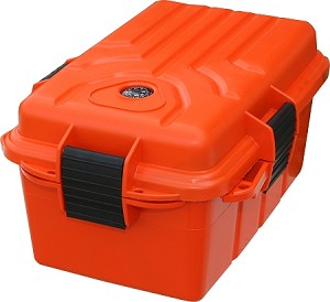 MTM Case-Gard Survivor Dry Box - Large (Orange)
