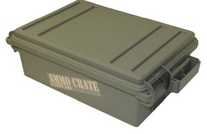 MTM Ammo Crate Utility Box (Army Green) (4.8'' Tall)