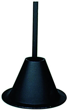 On Time Feeders Aluminum Mounting Funnel