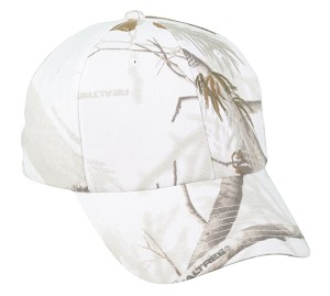 Outdoor Cap Company Classic Twill Camo with Hook/Loop Tape Closure (Realtree APS)