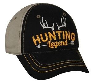Outdoor Cap Company Boys Hunting Legend (Black/Khaki)