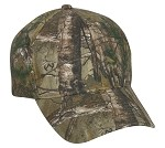 Outdoor Cap Company Classic Twill Camo with Hook/Loop Tape Closure (Realtree Xtra)