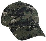 Outdoor Cap Company Unstructured Digital Camo (Olive)