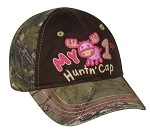 Outdoor Cap Company Girls My First Huntin' Cap (Realtree Xtra Brown)