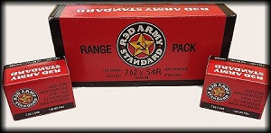 Red Army Standard 7.62 x 54R 148gr FMJ - Lacquer-Coated Steel Casing