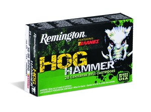 Remington Hog Hammer 30-30 Win 150gr TSX 20 Rnds