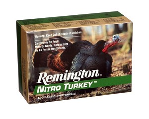 "Remington Nitro Turkey 12ga 3"" 1-7/8oz. 6-Shot 10 Rnds"
