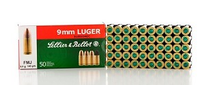 Sellier & Bellot 9mm Luger 140gr Subsonic FMJ