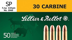 Sellier & Bellot 30 Carbine 110gr SP