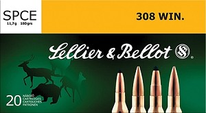 Sellier & Bellot 308 Win. 180gr SPCE