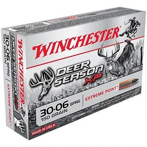 Winchester Deer Season XP 30-06 Springfield 150gr Extreme Point Polymer Tip