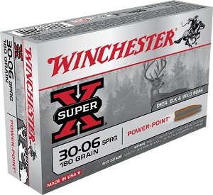 Winchester Super-X 30-06 Sprg 150gr Power-Point