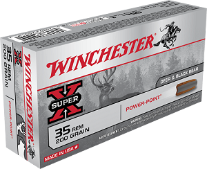 Winchester Super-X 35 Rem 200gr Power-Point