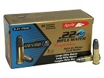 Aguila Rifle Match 22 LR 40gr LRN