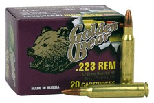 Golden Bear 223 Rem 62gr HP