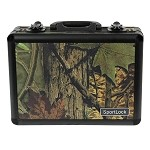 Birchwood-Casey AlumaLock Double Handgun Case (Camo)