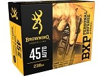 Browning BXP Personal Defense 45 ACP 230gr BXP-JHP
