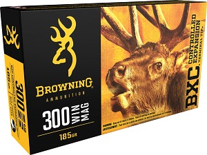 Browning BXC Controlled Expansion 300 Win Mag 185gr Terminal Tip