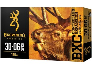 Browning BXC Controlled Expansion 30-06 Spring 185gr Terminal Tip
