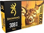 Browning BXC Controlled Expansion 308 Win 155gr Terminal Tip