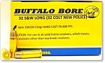 Buffalo Bore 32 S&W Long (32 Colt New Police) 115gr Hard Cast FN