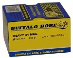 Buffalo Bore Heavy .41 Magnum 265gr Hard Cast LWN