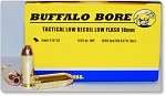 Buffalo Bore Tactical 10mm Low Recoil-Flash 155gr JHP