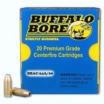 Buffalo Bore 9mm Luger +P+ 115gr JHP