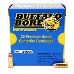 Buffalo Bore 9mm Luger +P 124gr JHP