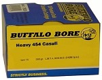 Buffalo Bore 454 Casull 360gr L.B.T. - L.W.N. Gas Checked