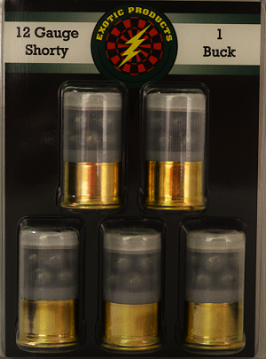 Exotic Products 12ga Shorty #1 Buck 1-3/4''