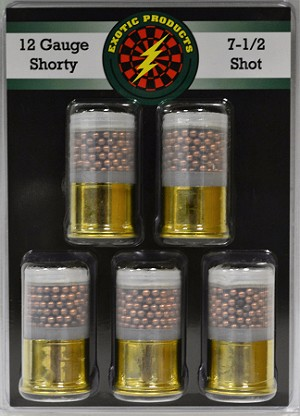 Exotic Products 12ga Shorty #7 1/2'' Copper Shot 1-3/4''
