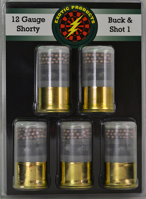 Exotic Products 12ga Shorty Buck & Shot 1, 1-3/4''