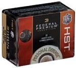 Federal Premium Personal Defense 9mm Luger 147gr HST JHP