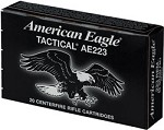 Federal American Eagle Tactical 223 Rem 55gr FMJ