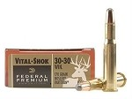 Federal Vital Shok 30-30 Win Nosler Partition 170gr