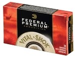 Federal Vital Shok .22-250 Rem 43gr TNT Green